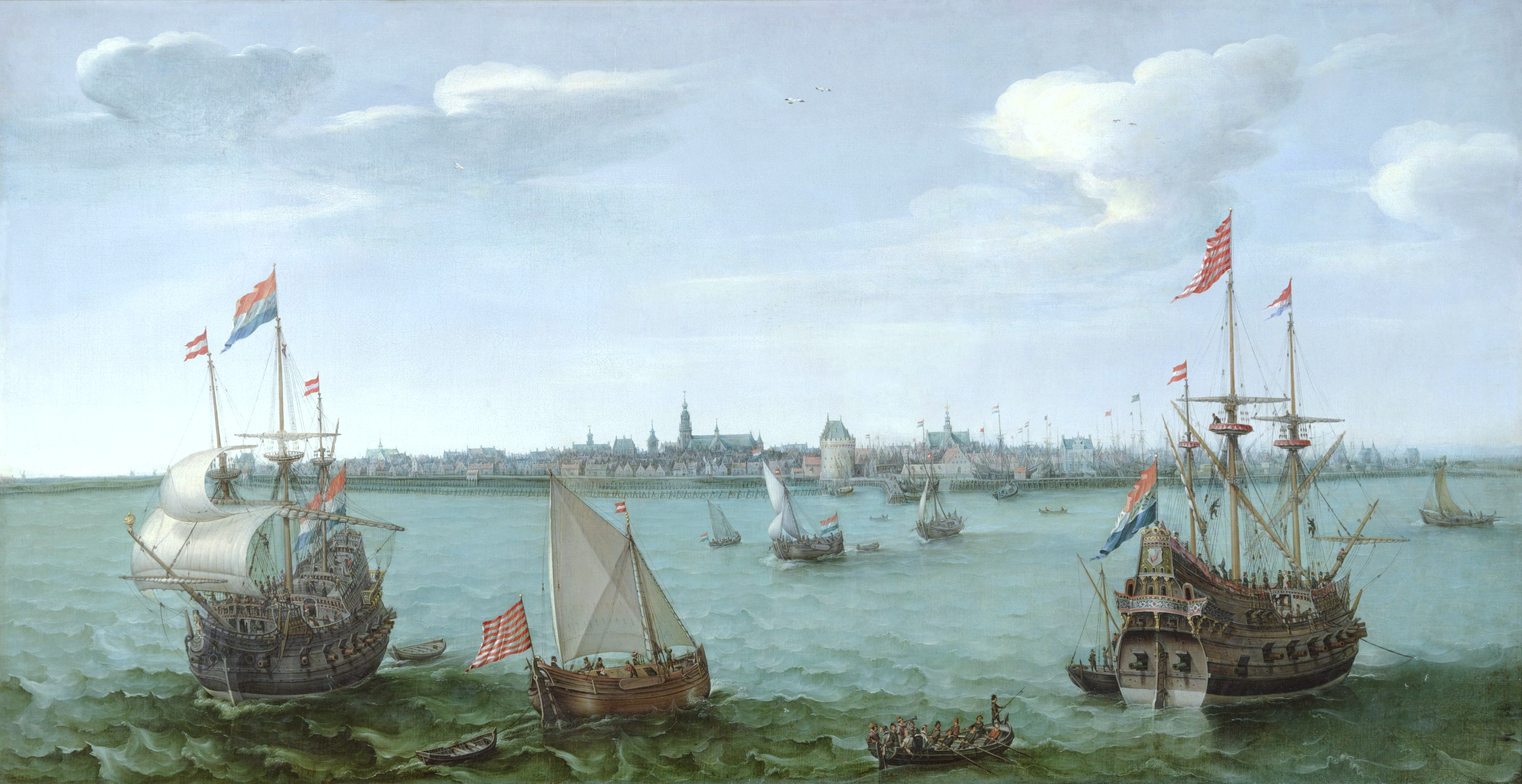 Gezicht_op_Hoorn_van_Hendrick_Cornelisz_Vroom_1622_Westfries_Museum_Hoorn